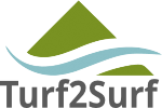 Turf2Surf logo